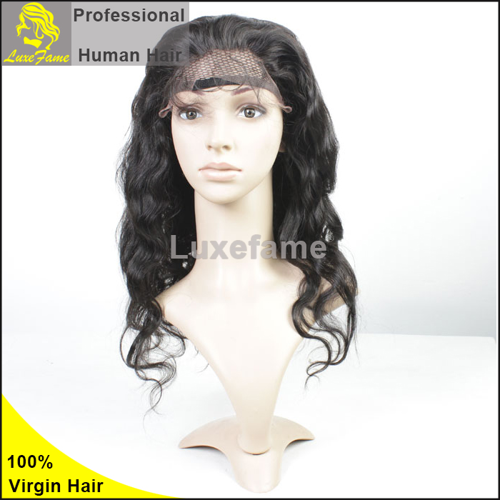 Alibaba Body Wave Curly Human Hair Wigs Full Hand Lace Wigs With Baby Hair