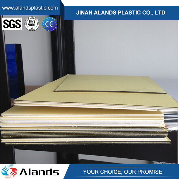 Black Non-adhesive PVC Sheet for Photo Album PVC album inner sheets