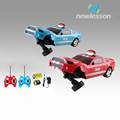 Christmas surprises special gift rolled radio controlled toy car with 3D light