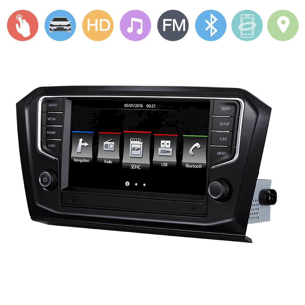VW Passat B8 Car stereo 9inch gps navigation for volkswagen Passat with IPAS OPS MFD SWC HD 1080P GPS MAP