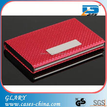Promotional leather playing card case