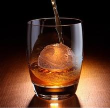 Nonstick Whiskey Baking Ball Tray Silicone Ice Cube