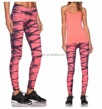 ladies fitness clothing women wearing tight yoga pants printed tight jogging yoga pants