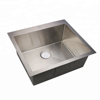 handmade single bowl stainless steel sink kitchen mate