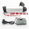 2015 New S22P-WB 24V 15.4Ah Electric Bicycle Polymer Lithium Battery Li-ion Battery 3.7V 2.2AH For Samsung 10A 3C Cell Battery