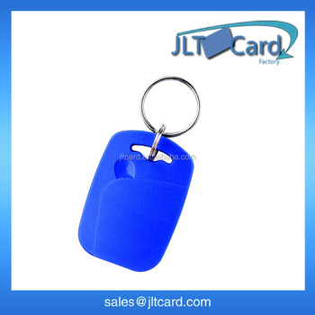 32bits UID EM4305 rewritable ABS rfid LF key fob 125khz