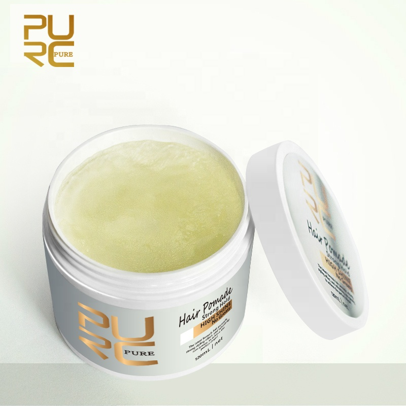 Brazilian Hair Pomade Hair Styling Free Sample Hair Wax Private Label