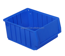 PP material Plastic Storage Tote Box with Steel Handle