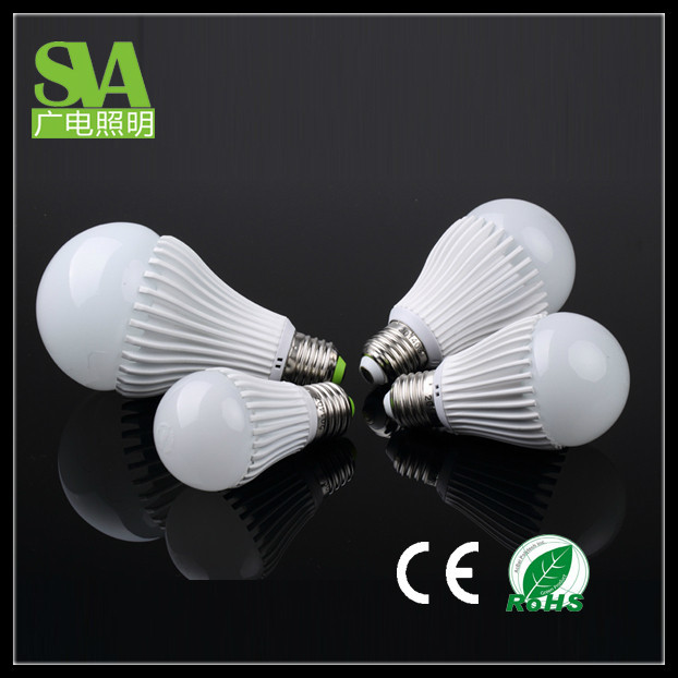 made in henglan city Saving 80% Energy 3w 5w 7w 9w 12w 18w e27 led bulb