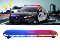 47 Inch Police Firefighter Truck Ambulance Car LED Warning Light Bar