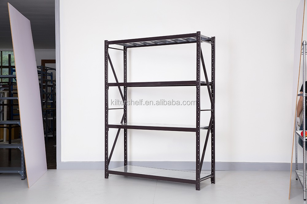 Light Duty Pharmacy Warehouse Steel Storage Rack Shelves