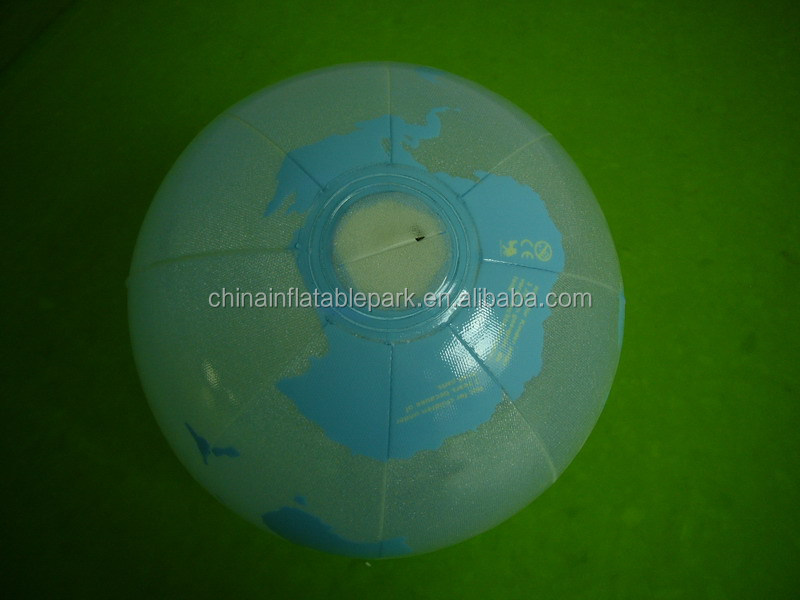 Inflatable advertising flash earth globe
