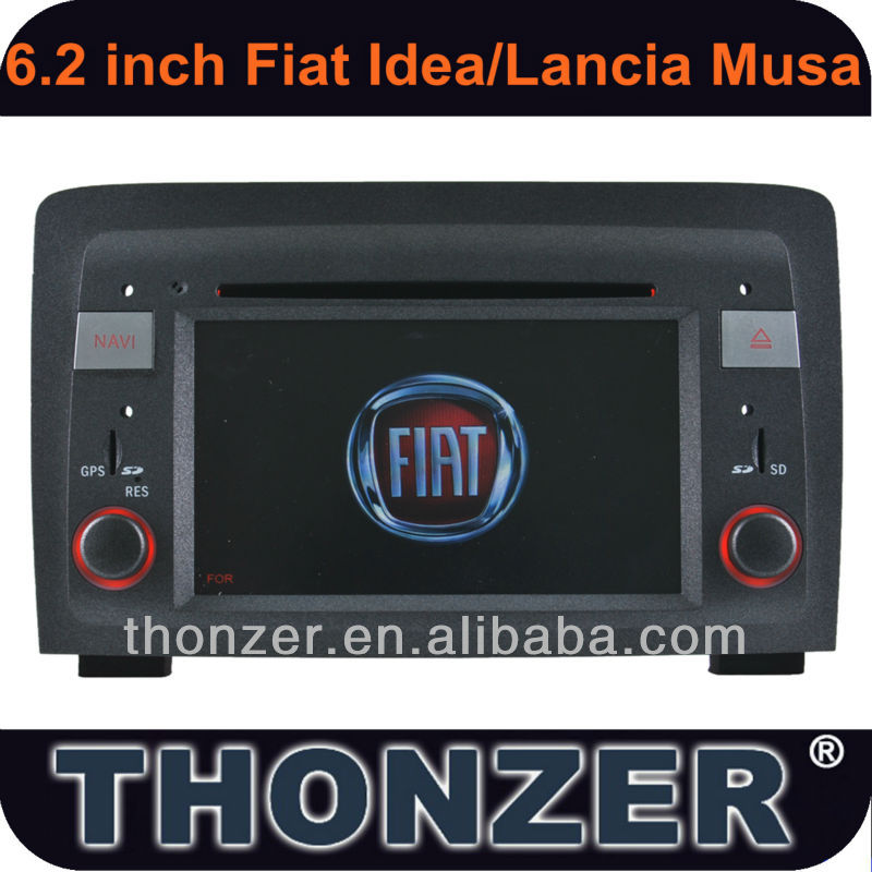 CAR DVD Player For Fiat Idea(2003 to 2007) Lancia Musa(2004-2008)
