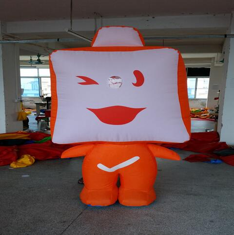 custom made inflatables model for advertisement