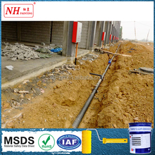 resistance to cathodic protection asphalt paint for buried pipeline