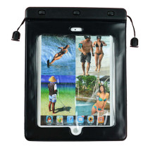 Feeling good waterproof floating pvc beach bag arabic keyboard case for ipad