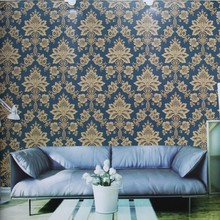 Howoo luxury wallpaper design hotel lobby wall decoration