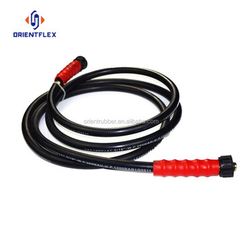 China high pressure Water jetting rubber hose/Car washer machine hose
