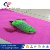 High Quality Sweat Absorbent Microfiber Suede Sport/Gym Towels with Bag