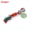 Fashion design colorful dog chewing rope toy,pet toy express alibaba