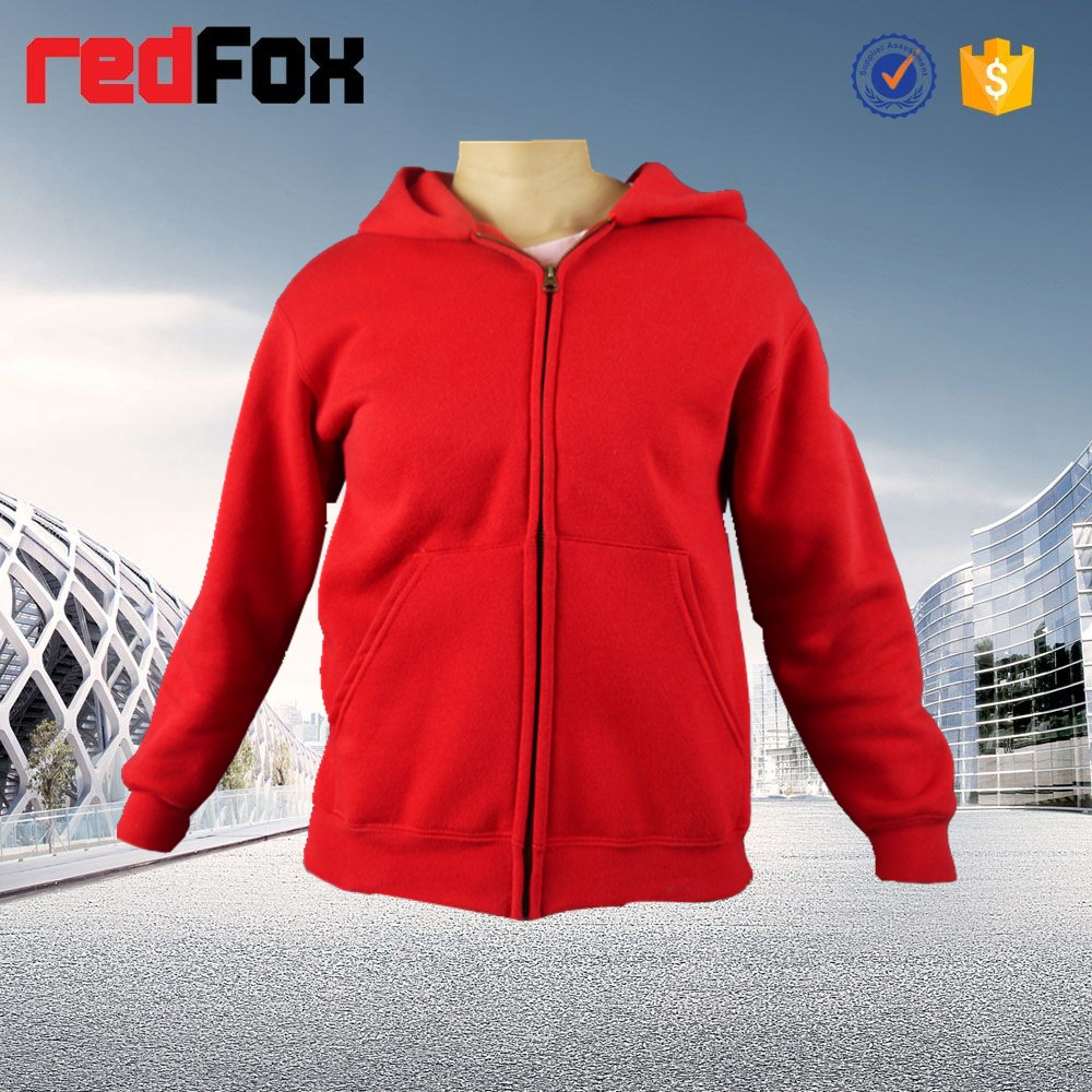5223 Red hoodie pullover fleece sweaters hoodies
