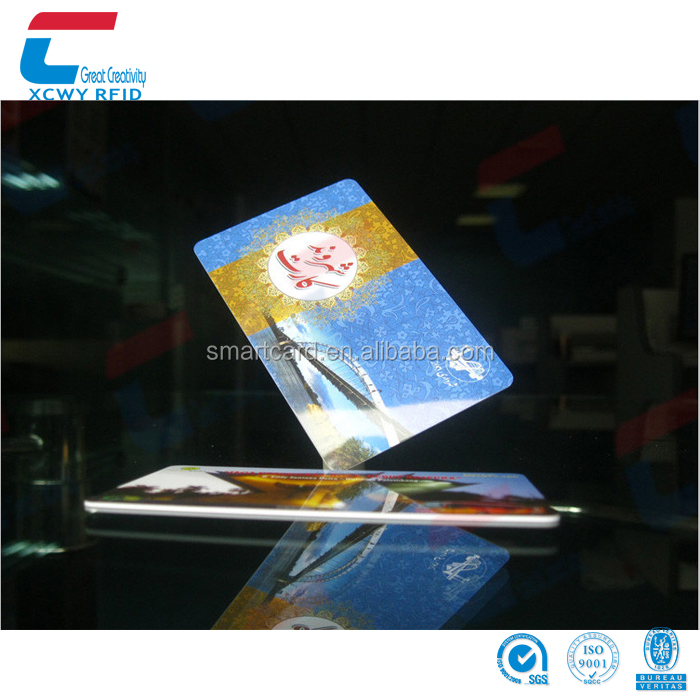 Encrypted 13.56mhz Mifare Desfire ev1 4k Card For Payment Ticket