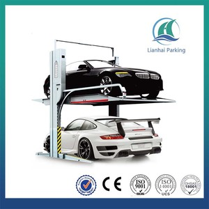 2 car parking canopy tent for low ceiling or basement/ machanical car parking lift
