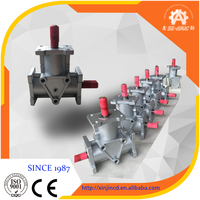 High quality ARA Series Spiral Bevel Gear forward reverse right angle shaft gear box