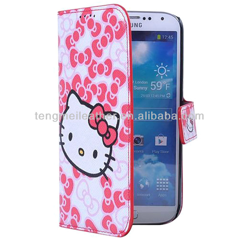 Hello Kitty Leather Case Cover For Samsung Galaxy S3, For Samsung Galaxy S3 Coves Case