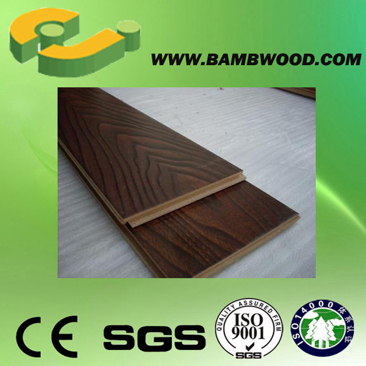 Options Non slip Laminate Wood Flooring For Decoration With Quality