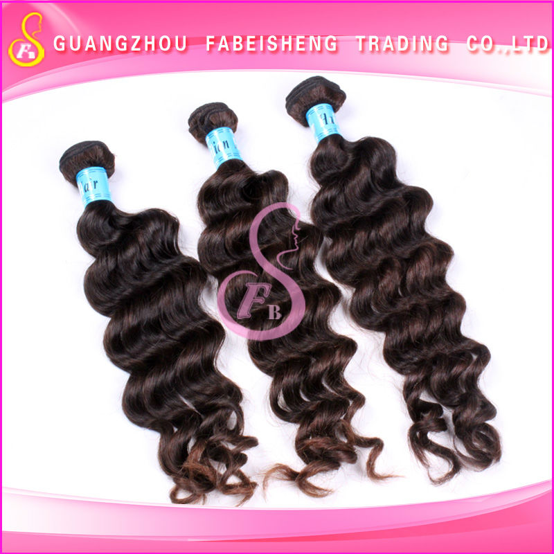 Top hair weaving brazilian loose wave virgin human hair bundles of clothing wholesale