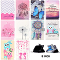 Universal Smart Flip Leather Case Tablet Stand Back Cover For Samsung 8 inch