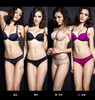 Elegant Top quality OEM breathable push up women's underwear bra set lingerie