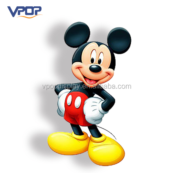 Creative Ideas Cardboard Photo Standee Mickey Mouse Store Display