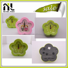 China manufacturer apple shape clock