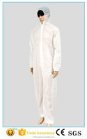 Antistatic disposable PP protective clothing / protective coverall