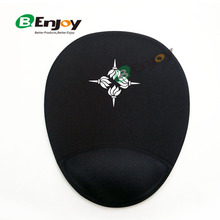 New Product Amazing Creative 3D Gel Wrist Rest Mouse Pad With Custom Logo Printed