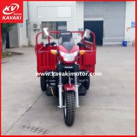 China Wholesale High Quality Not Diesel Tricycle For Cargo / Petrol Cargo Tricycle With Front Engine Under Fuel Tank
