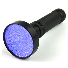 100 LED UV Highlight torch Flashlight with Matched glasses
