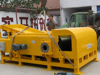 Eddy current separator system useful for grinded plastic