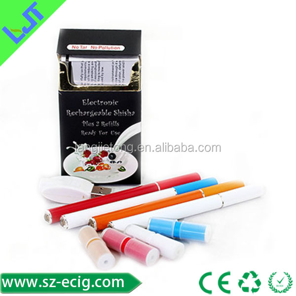 rechargeable e health cigarette starter kit 808d clearomizer