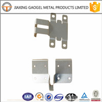 custom competitive price stainless steel garage door bracket aluminium sheet manufacturing process