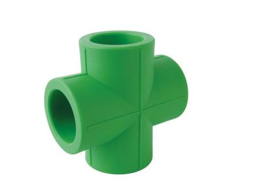 green and white ppr water supply pipes