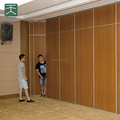 Soundproof removable wall partitions for banquet hall of hotel