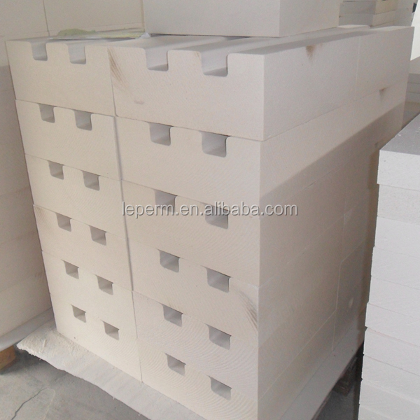 Heat insulation ceramic fiber board for brick kiln