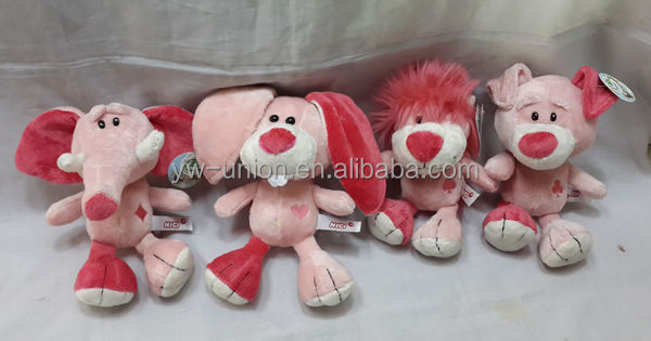 New arrival forest animal forest toys elephant lion bear soft toy