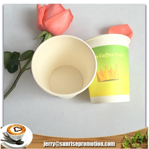 Biodegradable hot drink PLA paper cups custom printing