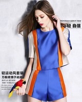 2015 Trade Assurance Blouses and Shorts Women's Suits very beautiful stripe women's dress suits