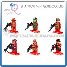 Mini Qute LELE 6pcs/set CS SWAT Police station plastic boys kids models building blocks action figures educational toy NO.79017