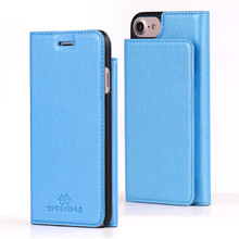 Factory Wallet Flip Mobile Phone Case for iPhone 7